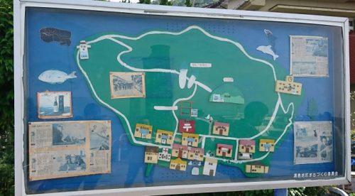 湯島観光マップ