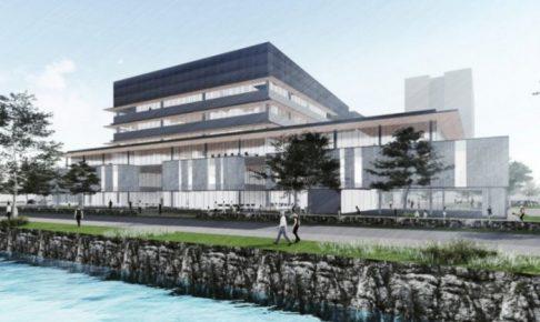 八代市役所新庁舎