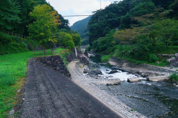 白岩戸公園吊り橋