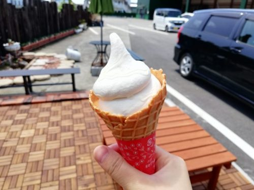 西岡養蜂園はちみつソフトクリーム