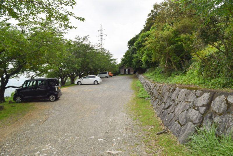 龍峯山自然公園 駐車場