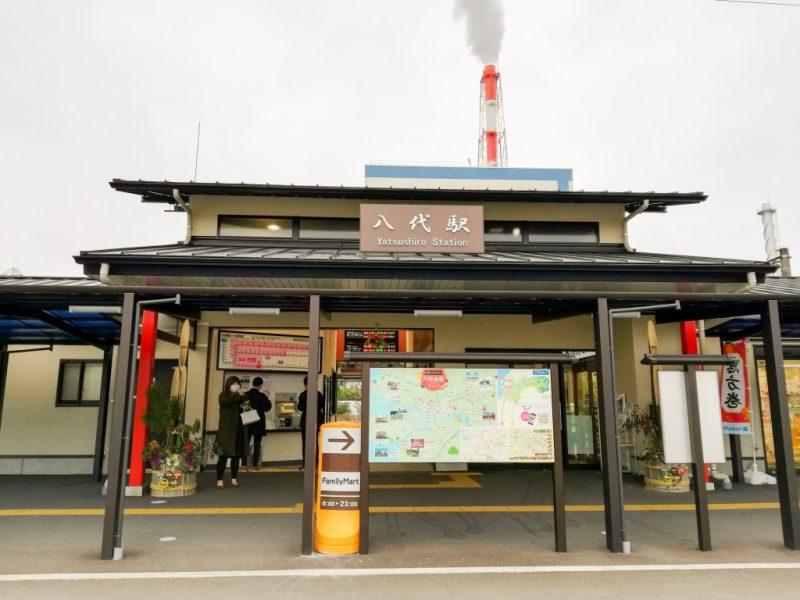 八代駅駐車場