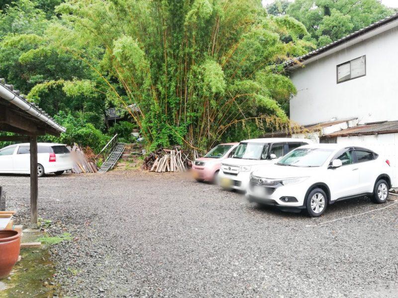 懐水集の駐車場