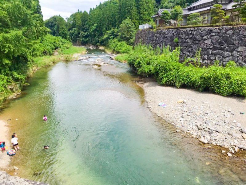 美里町川遊び